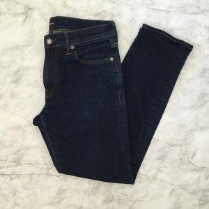 J Crew Japanese Indigo Denim Slim fit Jeans 31/30